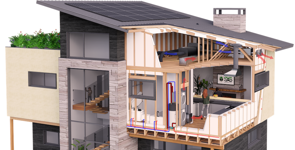 SES Home Insulation Rendering - Homeowner