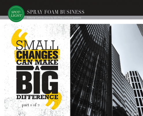 Small Change Can Make a Big Difference Part 1
